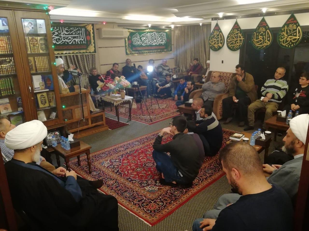 Photo of مكتب المرجع الشيرازي يحتفل بمولد الامام علي عليه السلام في بيروت