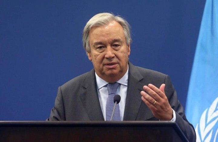 صورة الأمم المتحدة تدعو إلى إعلان الحرب على كورونا