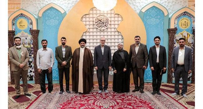 صورة العتبة الحسينية تناقش فعاليات وبرامج حملة اليوم العالمي للقرآن الكريم