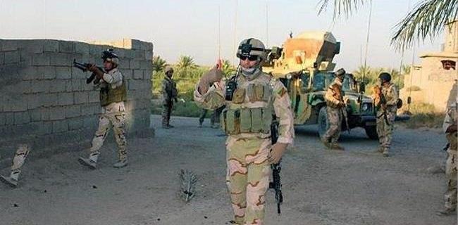صورة عمليات سامراء تعثر على عبوات لداعش وتعتقل اثنين من المطلوبين في مكيشيفة