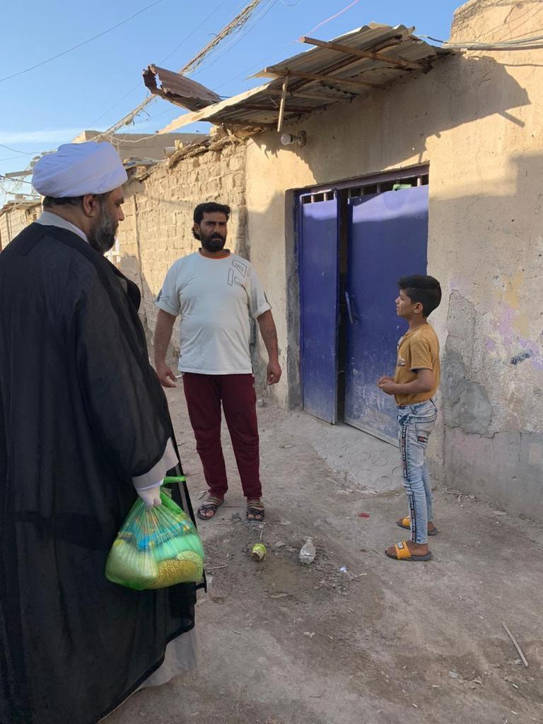 Photo of مؤسسة اهل البيت عليهم السلام في البصرة تواصل حملتها الانسانية لاعانة المحتاجين