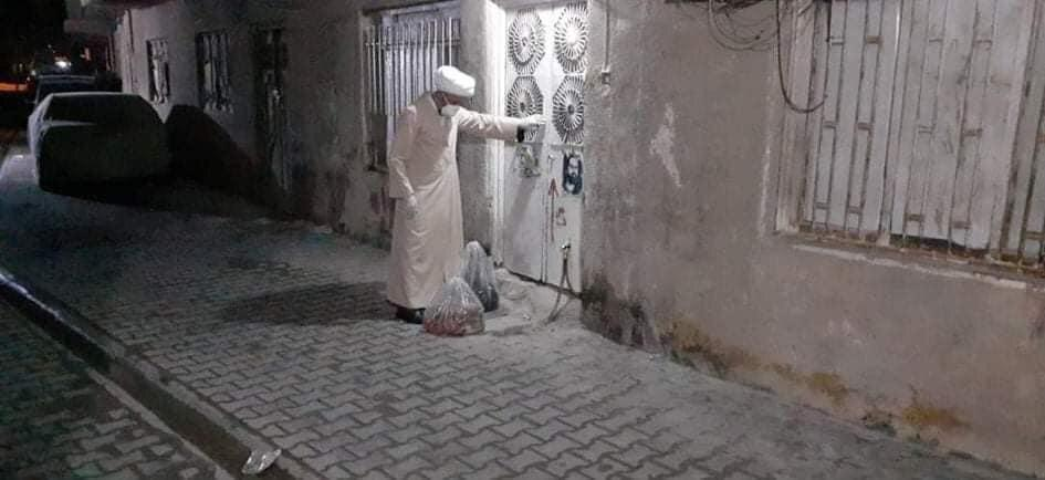 صورة جمعية الخير والبركة في بغداد تسهم  بتخفيف  تداعيات الحجر الصحي على العوائل المتعففة