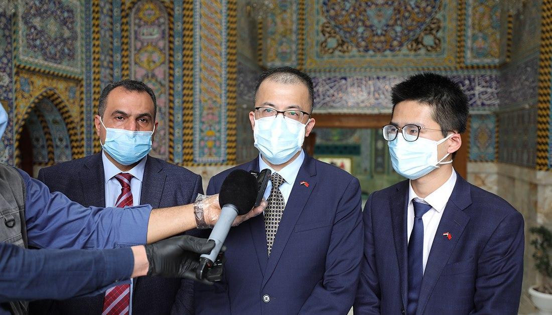 صورة العتبة الحسينية تعلن التنسيق مع الصين لدعم المؤسسات الصحية العراقية من زاخو الى الفاو