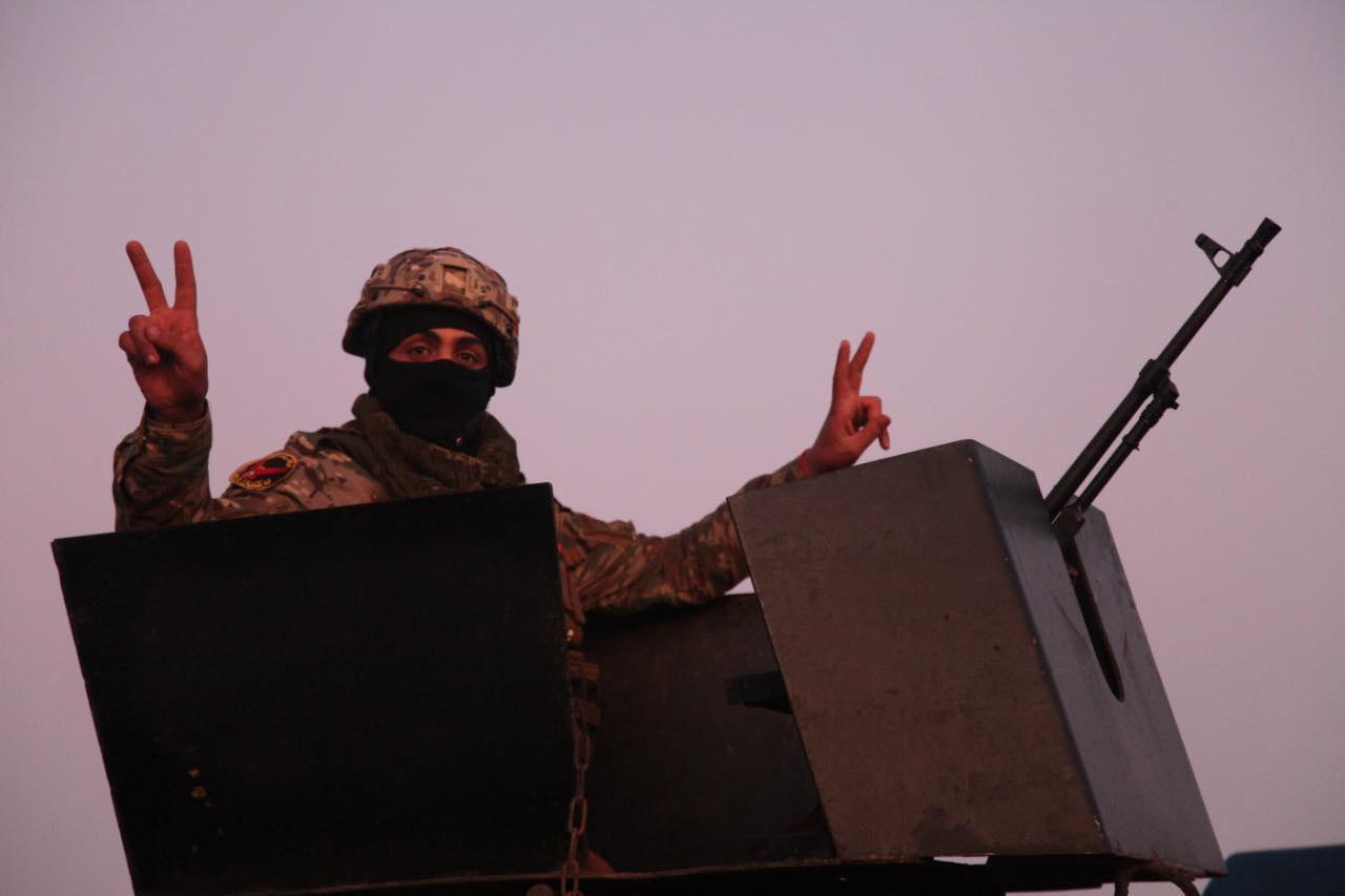 صورة الدفاع العراقية تعلن قتل 4 إرهابيين وتدمير 9 مضافات بعملية وثبة الاسود في ديالى