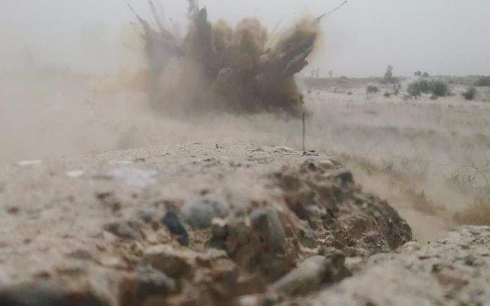 صورة استشهاد واصابة 4 أشخاص بتفجير داخل ملعب شعبي في ديالى