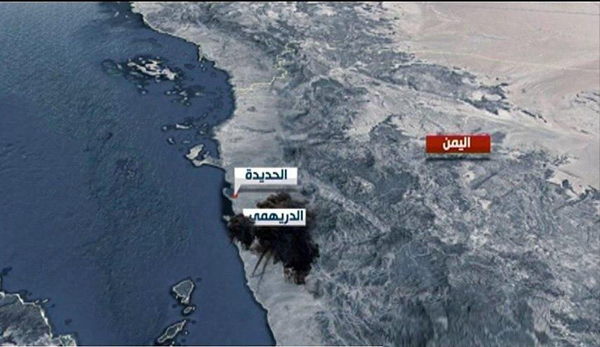 صورة التحالف السعودي يقصف مدينة الدريهمي بعشرات قذائف الهاون