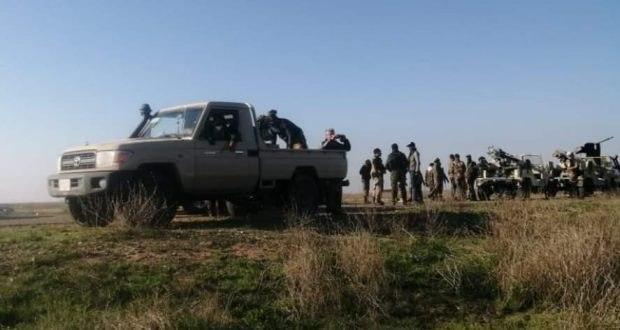 صورة العراق: غلق طرقات داعش الارهابي في نهر دجلة بمحافظة صلاح الدين