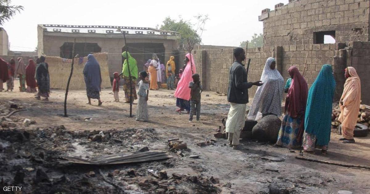 صورة مجزرة في نيجيريا على يد العصابات المسلحة