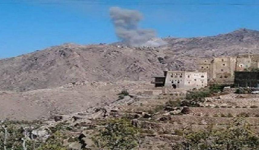 صورة طيران التحالف السعودي يقصف خلال الـ24 الماضية 5 محافظات يمنية