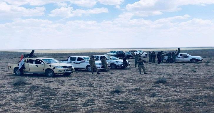 صورة العراق: تنفيذ عملية لتفتيش صحراء الانبار وصولا للقرى المحاذية لنينوى