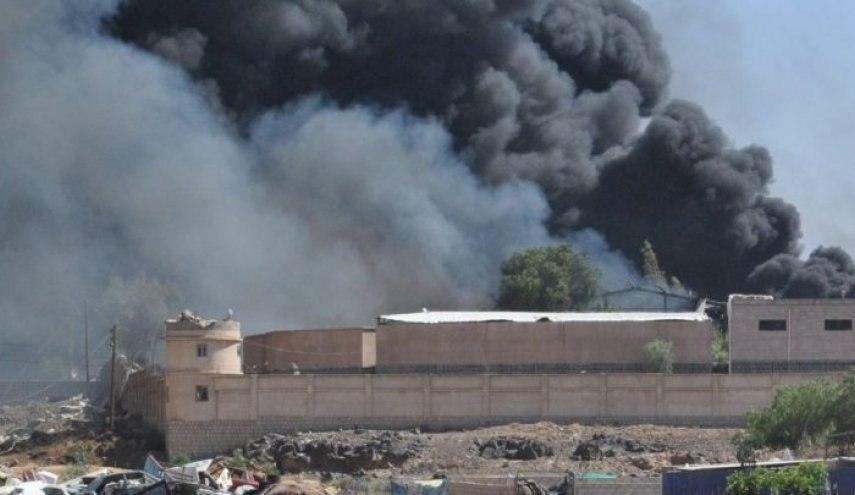 صورة استشهاد وإصابة 3 أطفال بقصف سعودي على صعدة