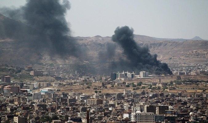 صورة ارتفاع عدد ضحايا غارات التحالف السعودي على صعدة اليمنية إلى ثلاثة شهداء