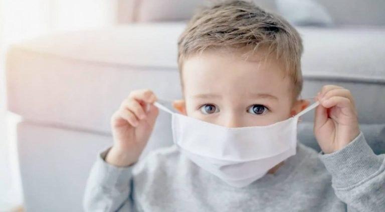 صورة دراسة: الكمامات خطر على الأطفال