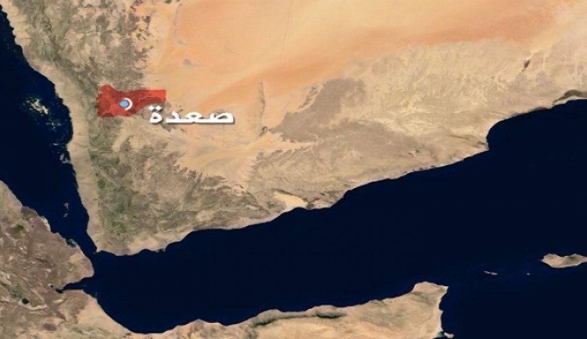 صورة إصابة طفلة بقصف مدفعي سعودي في صعدة اليمنية