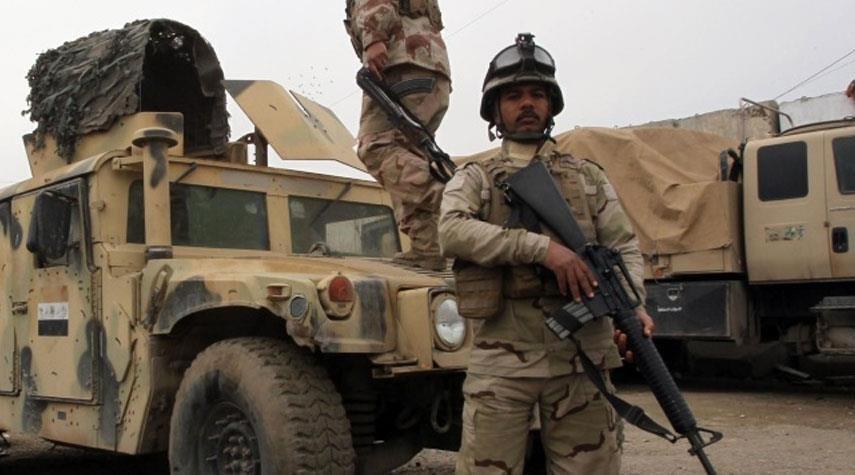 صورة استشهاد عسكري وإصابة 5 آخرين بهجوم لداعش الارهابي جنوب سامراء في العراق