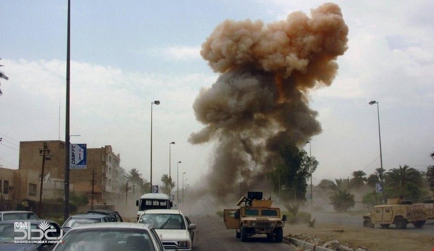 صورة استشهاد واصابة 4 عناصر من الامن العراقي بانفجار في مخمور
