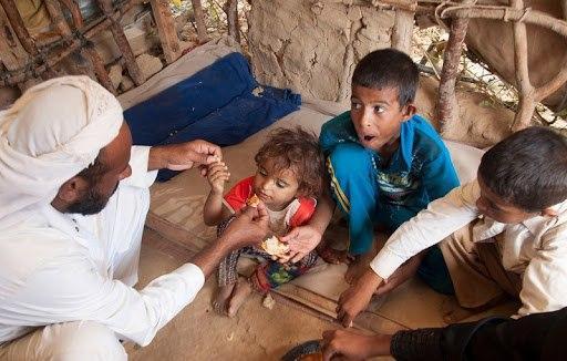 صورة موقع امريكي: واشنطن تتحمل مسؤولية الازمة الانسانية في اليمن