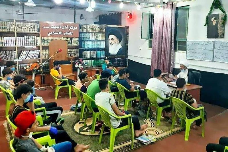 صورة تواصل الدورة الصيفية الشبابية لمركز أهل البيت عليهم السلام للفكر الإسلامي في بغداد