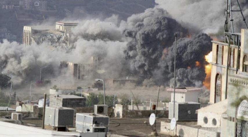 صورة 3  شهداء بغارات للتحالف السعودي على محافظة صعدة اليمنية