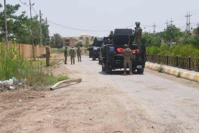 صورة استشهاد واصابة 14 عراقياً في هجوم لداعش الارهابي على قرية مخياس قرب خانقين