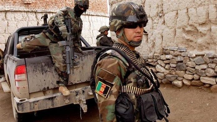 صورة القبض على قائد كبير بداعش الارهابي في أفغانستان
