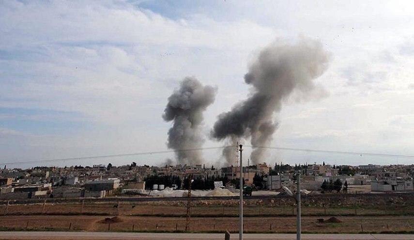 صورة انفجاران متتاليان يوقعان اصابات في مدينة منبج السورية