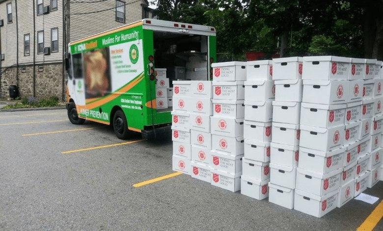 Photo of الدائرة الإسلامية في ولاية جورجيا تقدم المساعدات للمحتاجين في ظل انتشار كورونا