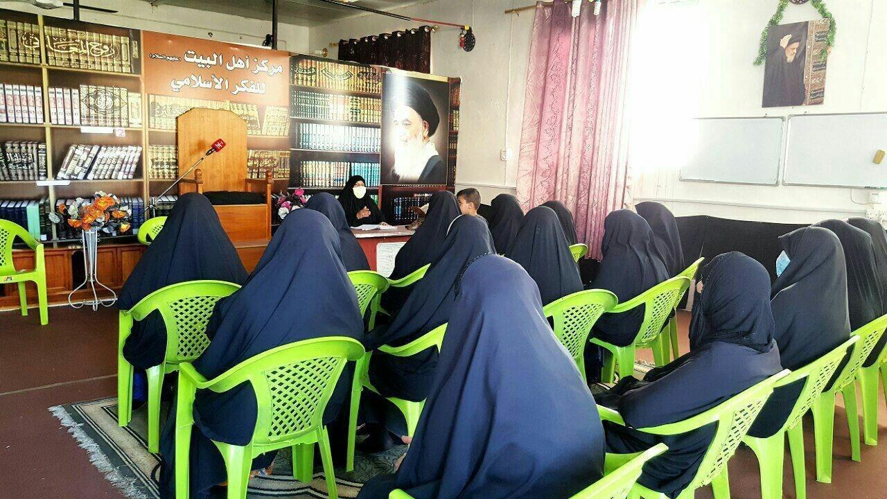 صورة تنظيم ندوة فكرية حول ابعاد الحركة الرسالية للسيدة فاطمة الزهراء صلوات الله عليها في بغداد