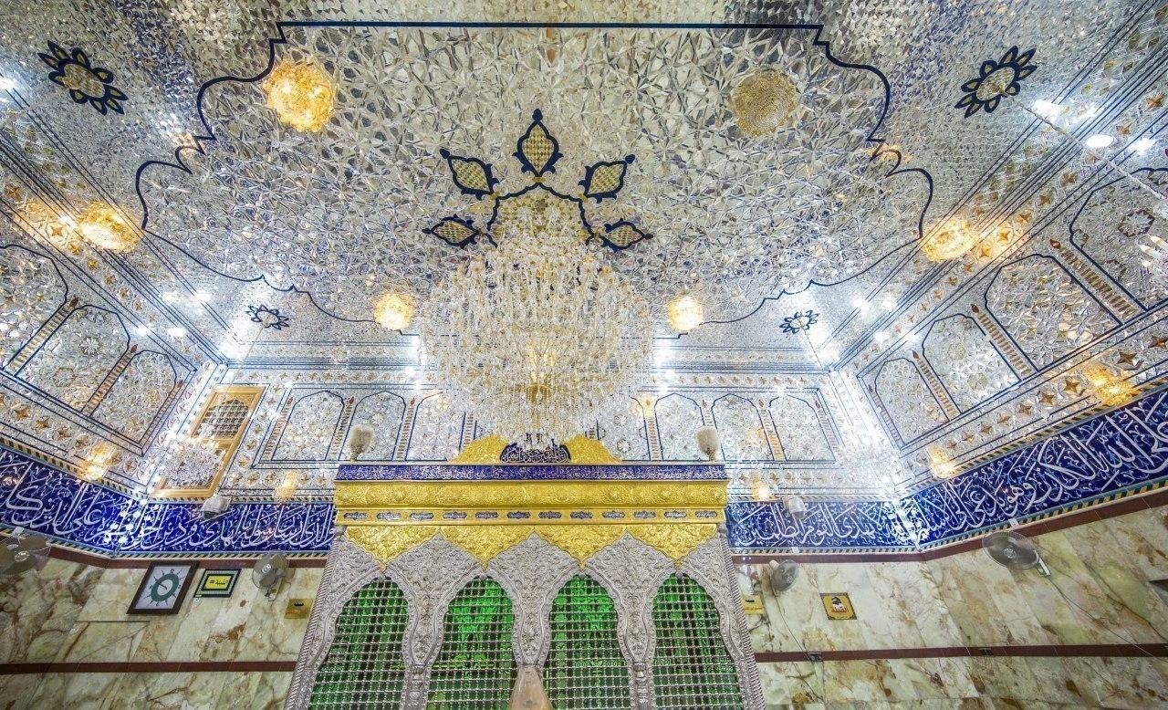 صورة بالصور .. المخيم الحسيني في كربلاء المقدسة