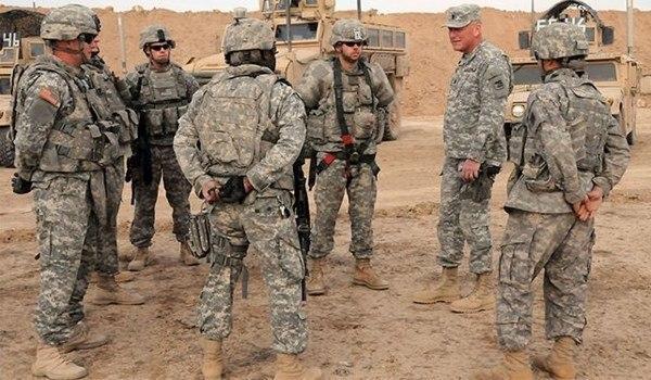 صورة تحذيرات من عمليات اميركية لدعم داعش الارهابي عند الشريط الحدودي مع سوريا