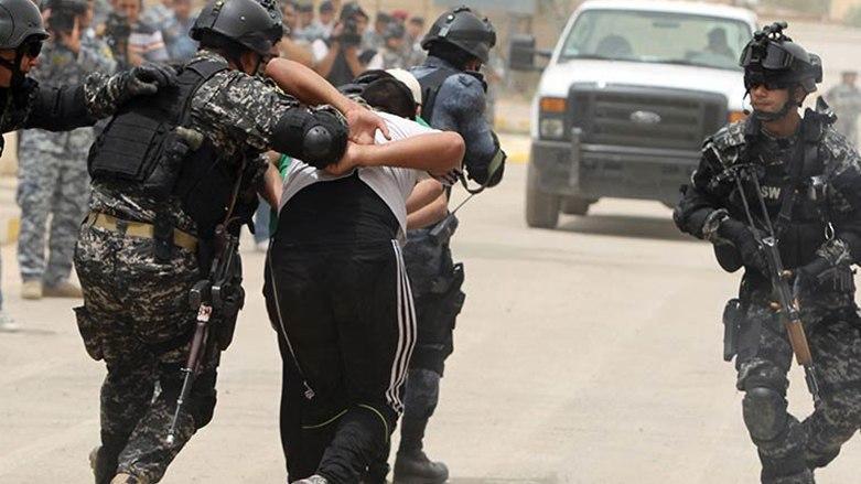 صورة الأمن العراقي يعتقل عائلة إرهابية تسللت الحدود مع سوريا