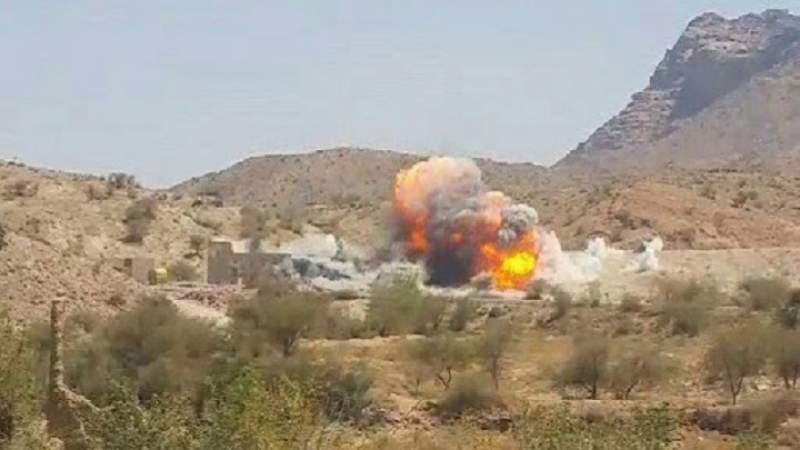 صورة طيران التحالف السعودي يشن سلسلة غارات على عدة محافظات يمنية