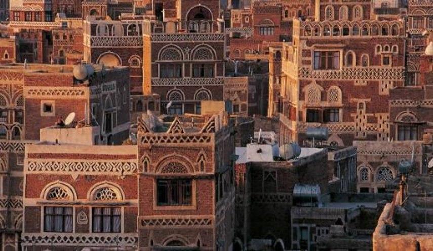 صورة نداء استغاثة لإنقاذ صنعاء القديمة بعد تعرض مبانيها للانهيار جراء الأمطار
