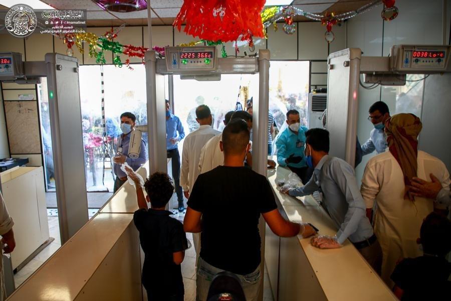 صورة العتبة العلوية تعلن اعتماد أجهزة متطورة لتفتيش الزائرين خلال زيارة عيد الغدير الأغر