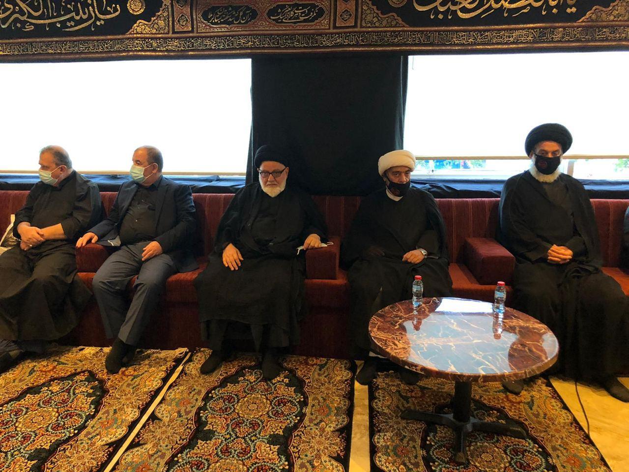 صورة حسينية الرسول الأعظم (صلَّى الله عليه وآله) في لندن تحتضن مجالس العزاء بذكرى عاشوراء الإمام الحسين عليه السلام