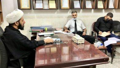 صورة لجنة مشروع القضاء على فقر أيتام العراق تواصل عقد اجتماعاتها