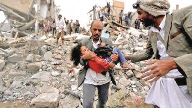 صورة خلال 5 سنوات… استشهاد أكثر من 16 ألف يمني وجرح أكثر من 26 ألفاً آخرين