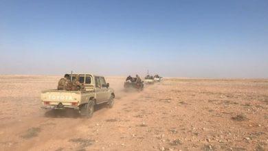 صورة انطلاق عملية أمنية في النخيب والصحراء لتأمين الزيارة الأربعينية