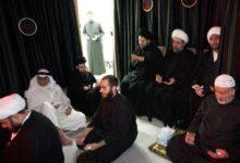 صورة تواصل مجالس العزاء الحسيني بمناسبة شهر صفر ببيت نجل المرجع الشيرازي في الكويت