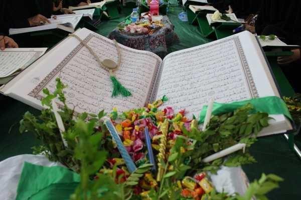 صورة مشاركة 3 آلاف قارئ من 21 دولة في الحملة القرآنية العاشورائية في العراق