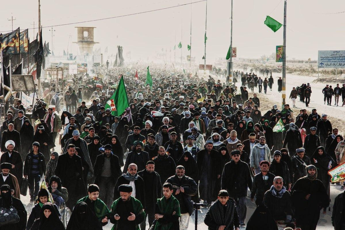 صورة اسيوشيتد برس: أكبر حج إسلامي معاصر ليس حج مكة، بل حج الشيعة إلى كربلاء في العراق
