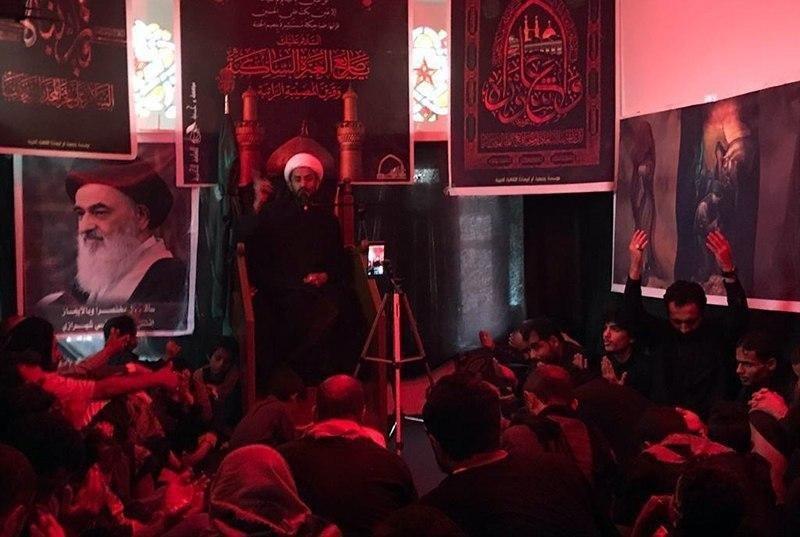 صورة تنظيم مراسيم العزاء الحسيني بمدينتي الجوف وصنعاء في اليمن (صور)