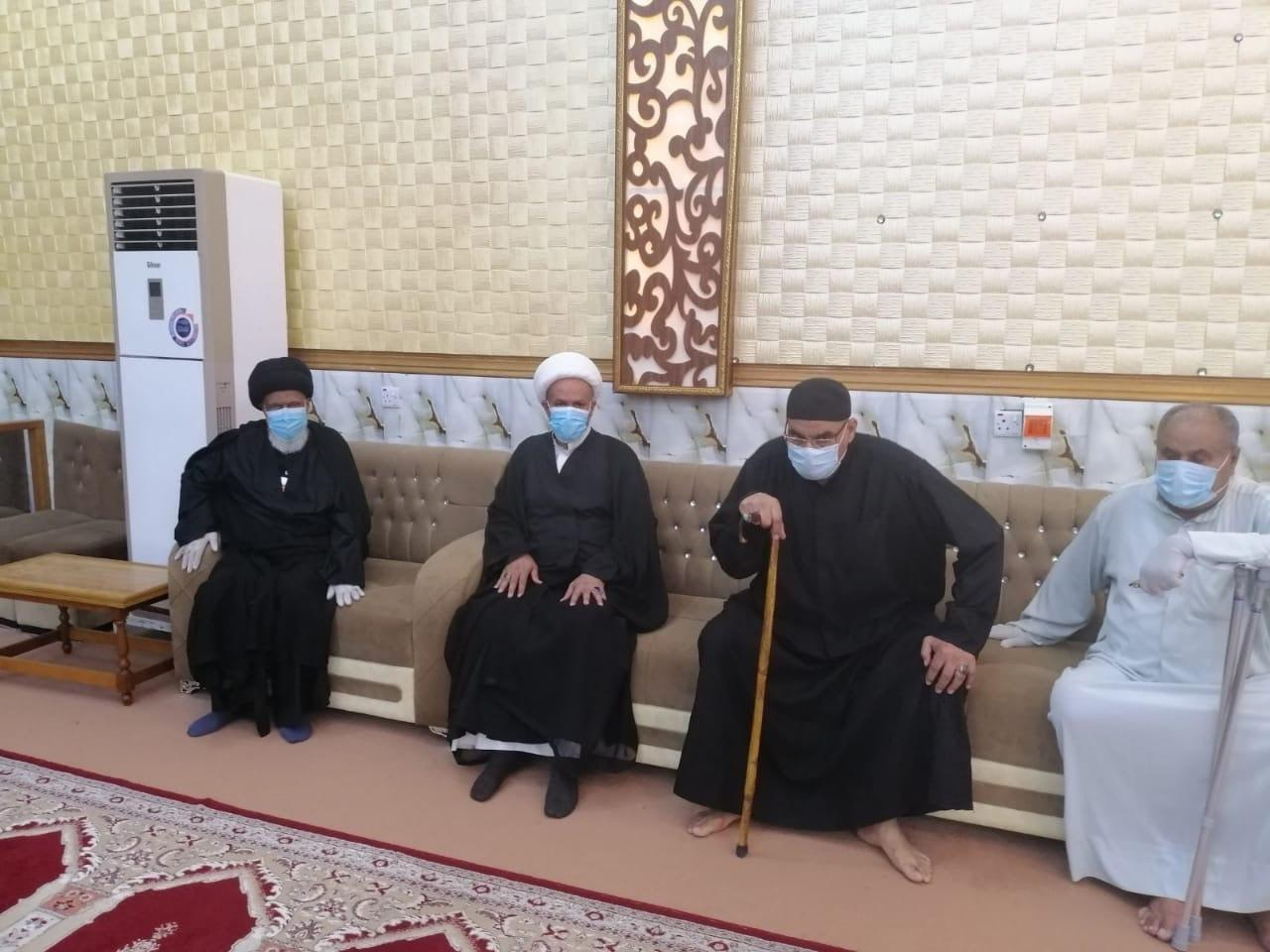 صورة مكتب المرجع الشيرازي يقيم مجالس العزاء الحسيني في محافظة البصرة