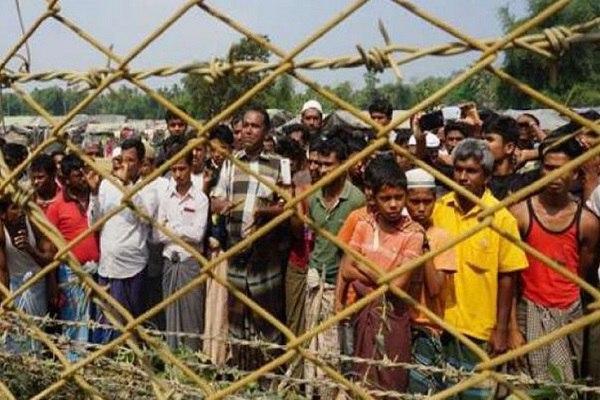صورة ميانمار تمحو أسماء قرى الروهينجا المسلمة