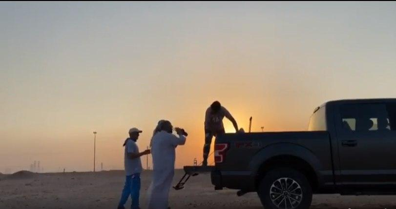 صورة قوافل الزوار الكويتين تنطلق صوب الحدود العراقية للمشاركة في احياء ذكرى الأربعين