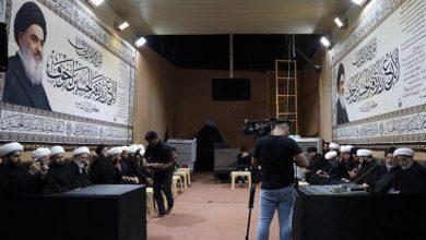 صورة بعثة المرجع الشيرازي تقدم خدماتها لزائري الأربعين الحسيني في كربلاء المقدسة