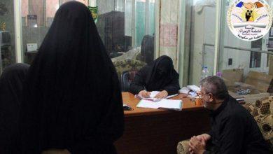 صورة مؤسسة السيّدة فاطمة الزهراء عليها السلام توزع المساعدات الشهرية للأيتام والمتعفّفين في كربلاء المقدسة