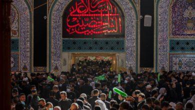 صورة كربلاء المقدسة تستقبل زائرين من دول عربية وأجنبية لأداء الزيارة الأربعينية وسط إجراءات وقائية