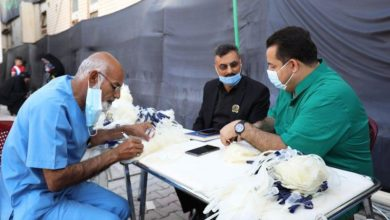 صورة المركز الوطني ينظم حملات التبرع بالدم خلال زيارة استشهاد الإمام الحسن العسكري عليه السلام في سامراء