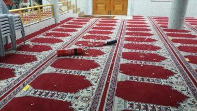 صورة اعتداء على مسجد في سيدني